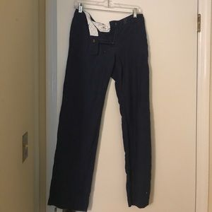 Vineyard Vines Navy blue pants. Size 0